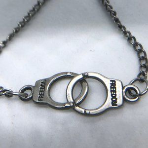 Jewelry - Necklace with handcuffs. Freedom
